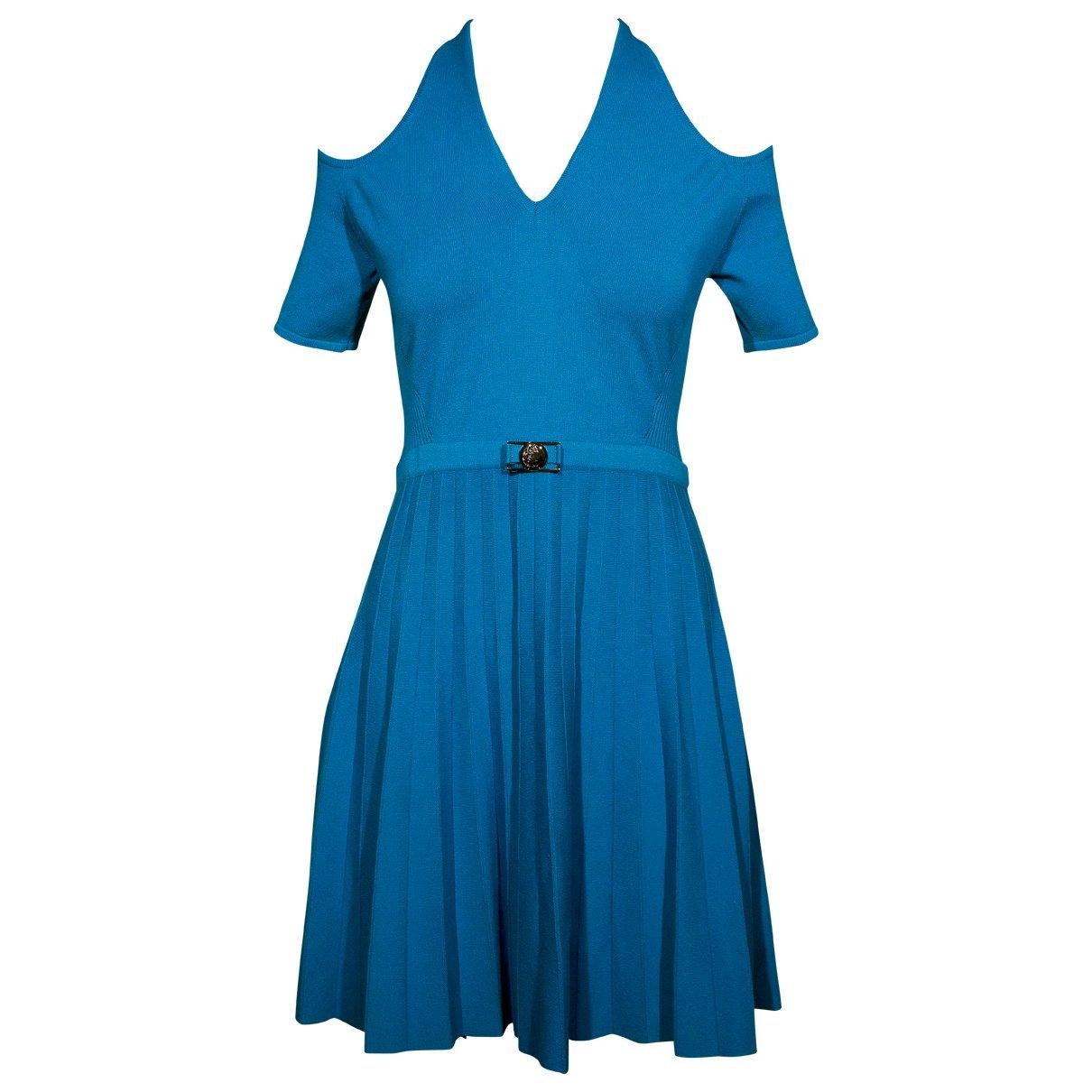 Gianni Versace \N Blue dress for Women 46 IT