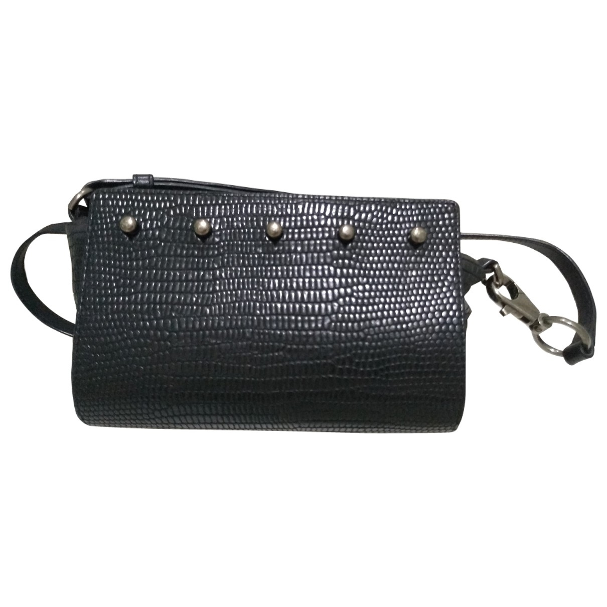 Alexander Wang Prisma Handtasche in  Schwarz Leder