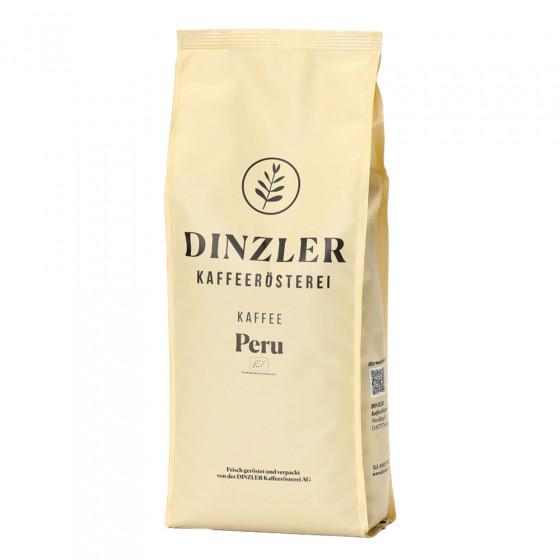 "Kaffeebohnen Dinzler Kaffeerosterei ""Kaffee Peru Organico"", 1 kg"