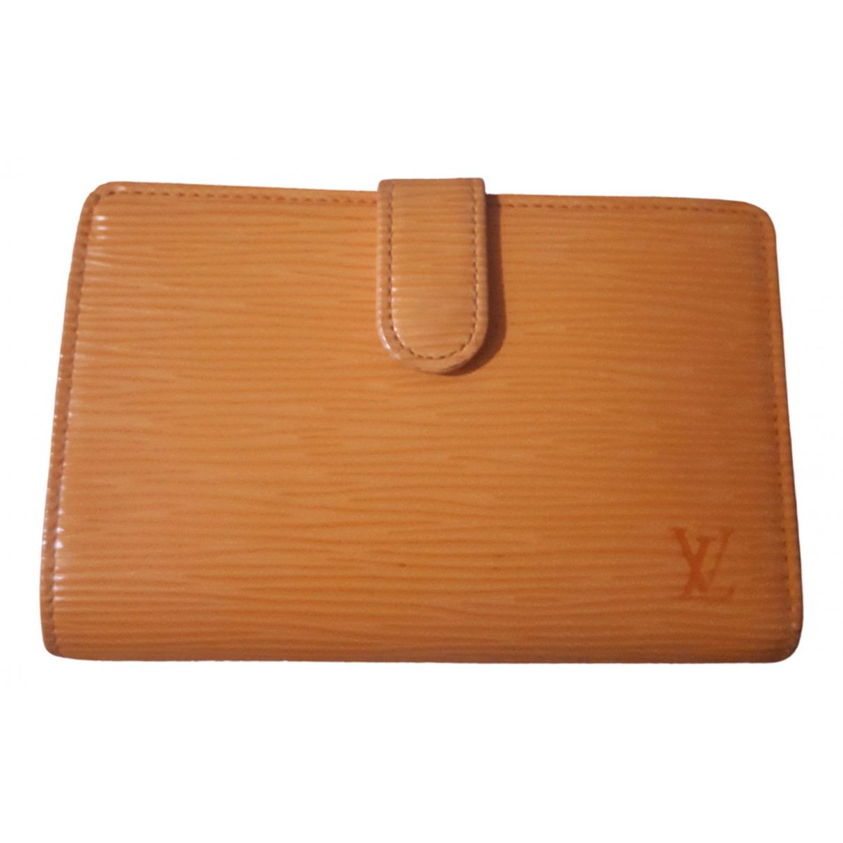 Louis Vuitton N Orange Leather Purses, wallet & cases for Women N