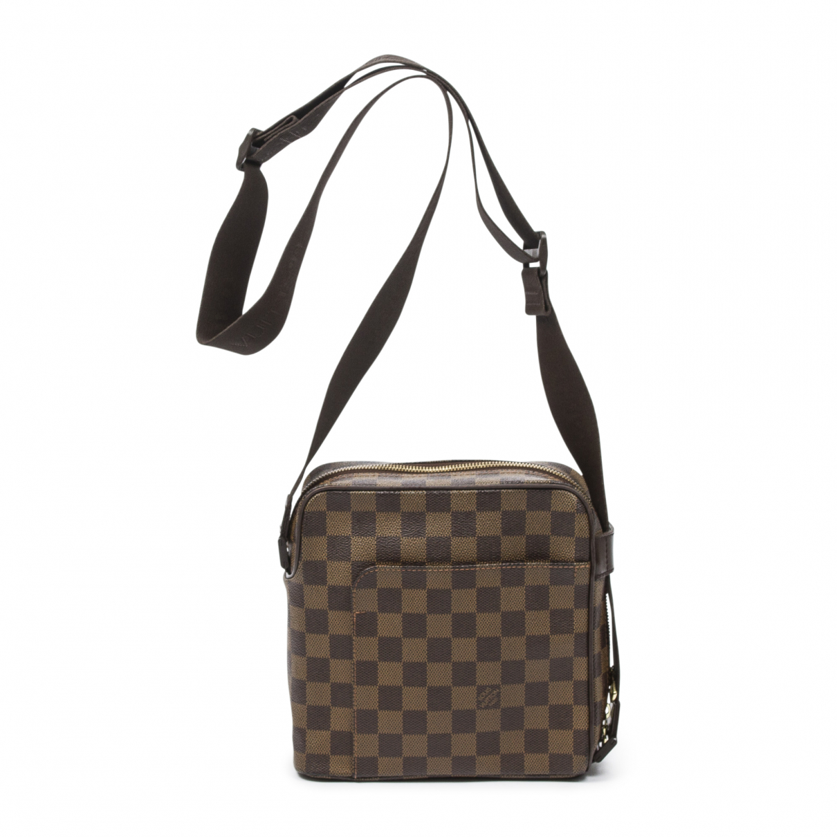 Louis Vuitton Olav  Brown Leather handbag for Women \N