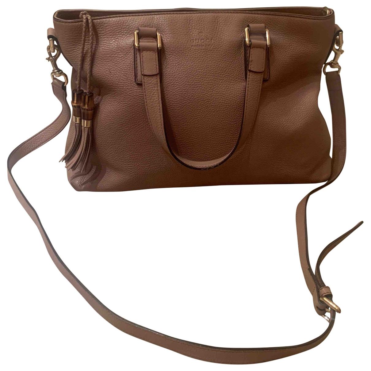 Gucci \N Pink Leather handbag for Women \N