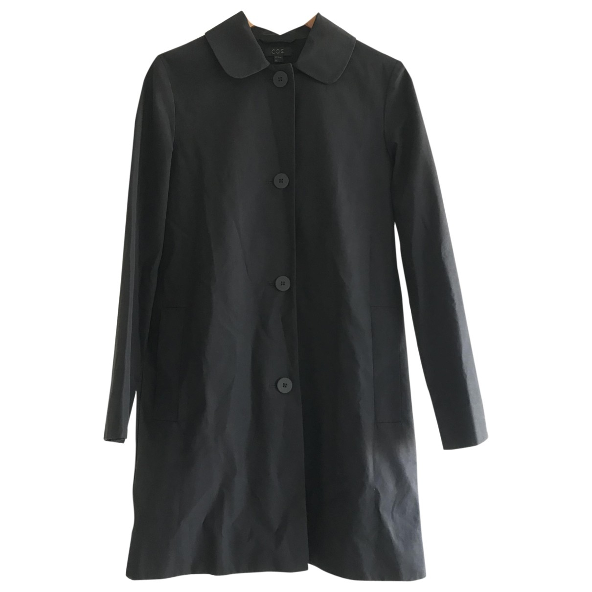 Cos \N Navy Cotton jacket for Women 36 FR