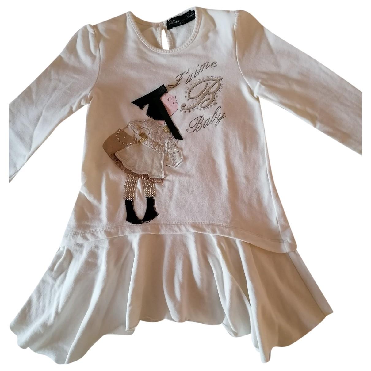 Blumarine \N Beige Cotton dress for Kids 2 years - up to 86cm FR