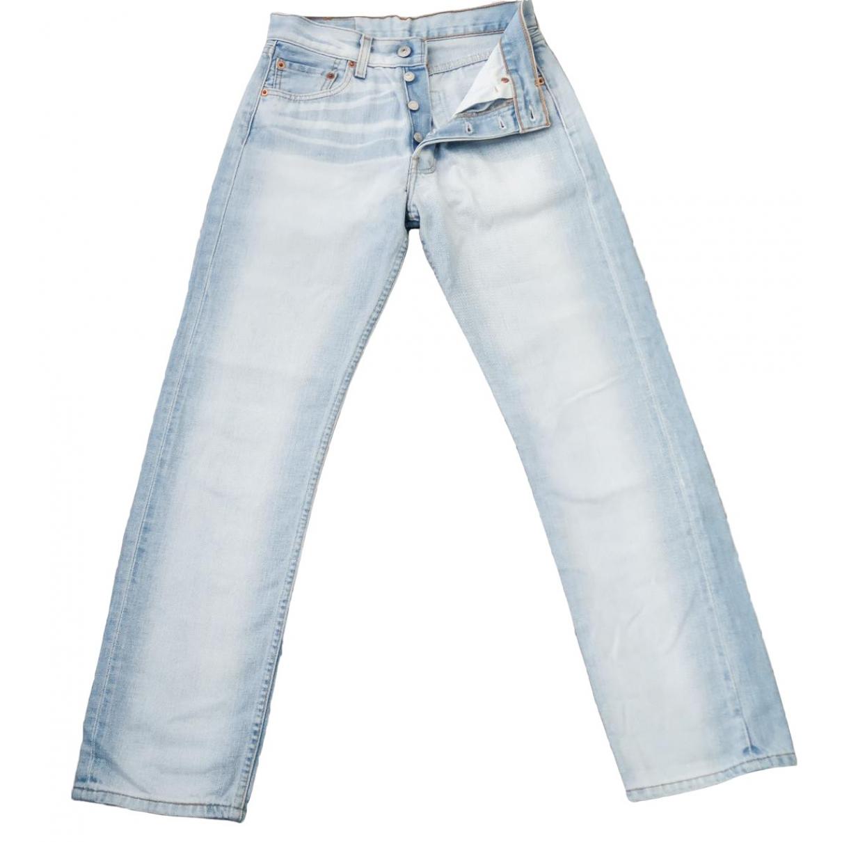 Levi's Vintage Clothing \N Blue Cotton Jeans for Women 36 FR