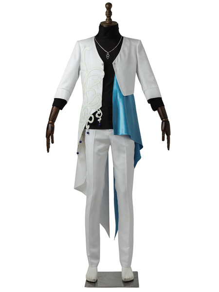 Milanoo The Animation Cosplay Costumes Izumi Shuu Horimiya Eichi White Uniform Cloth Outfit