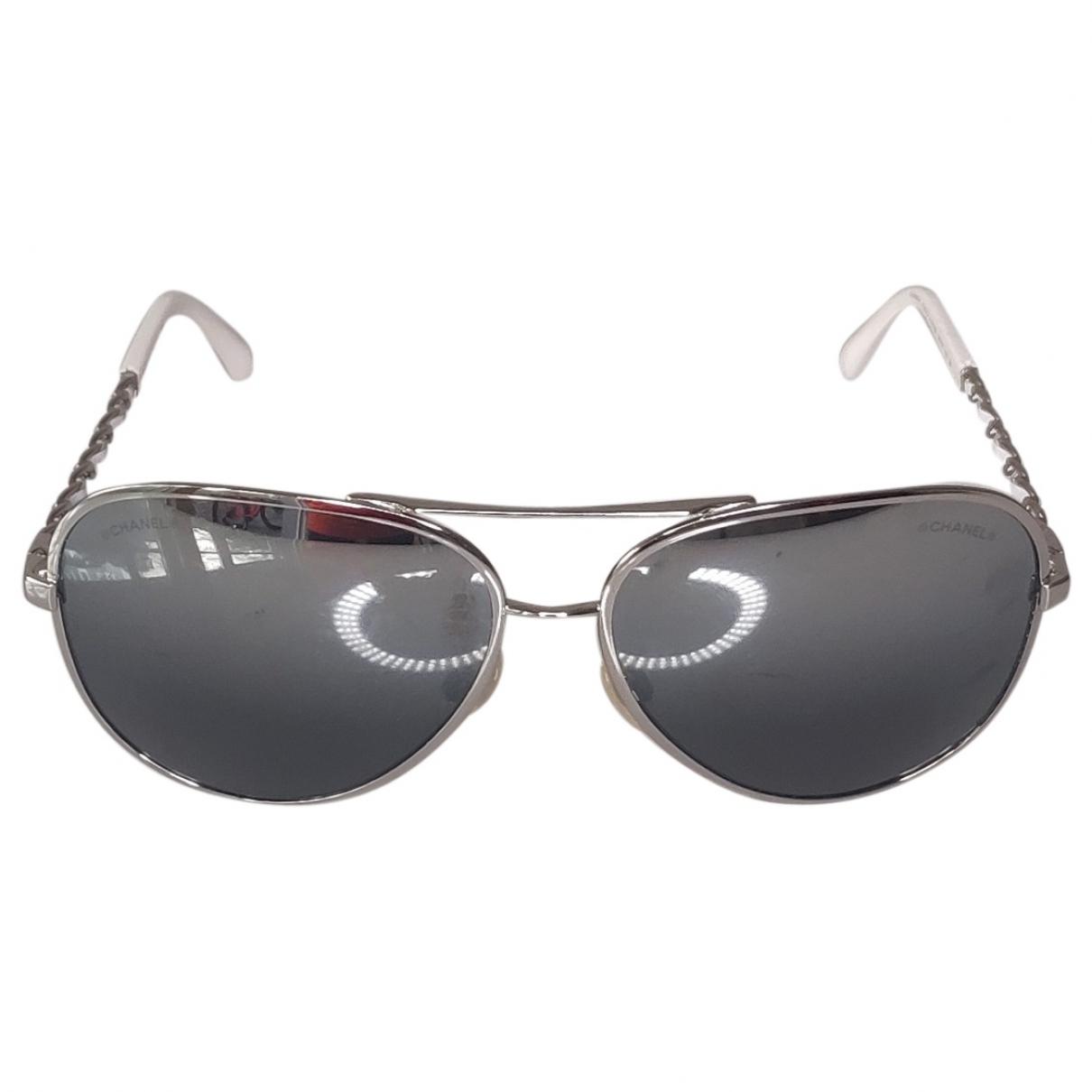 Gafas de aviador Chanel
