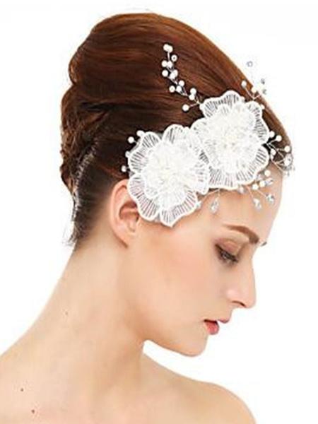 Milanoo Accesorios para el cabello nupcial de diamantes de imitacion de boda