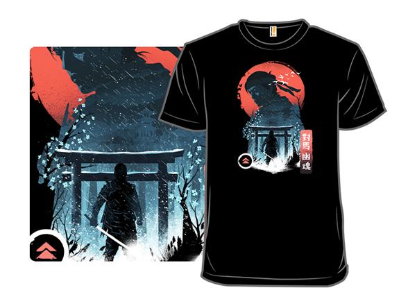 Samurai Warrior T Shirt