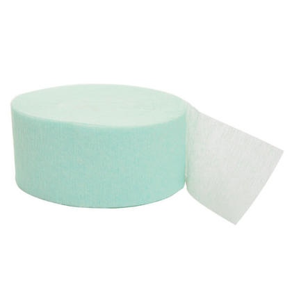 Party Streamer Party Decorations Crepe Paper 81 ft - Mint