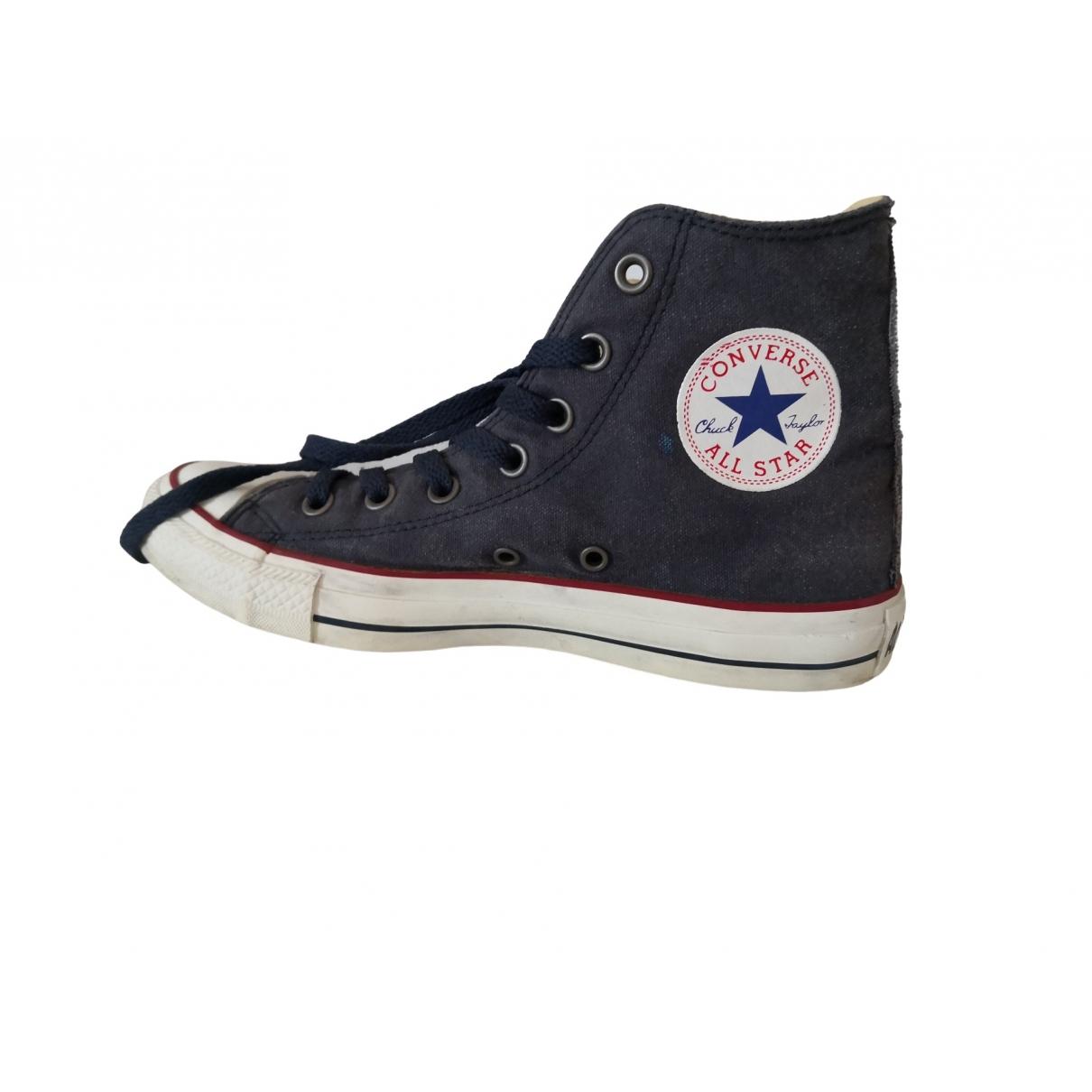 Converse \N Sneakers in  Blau Leinen