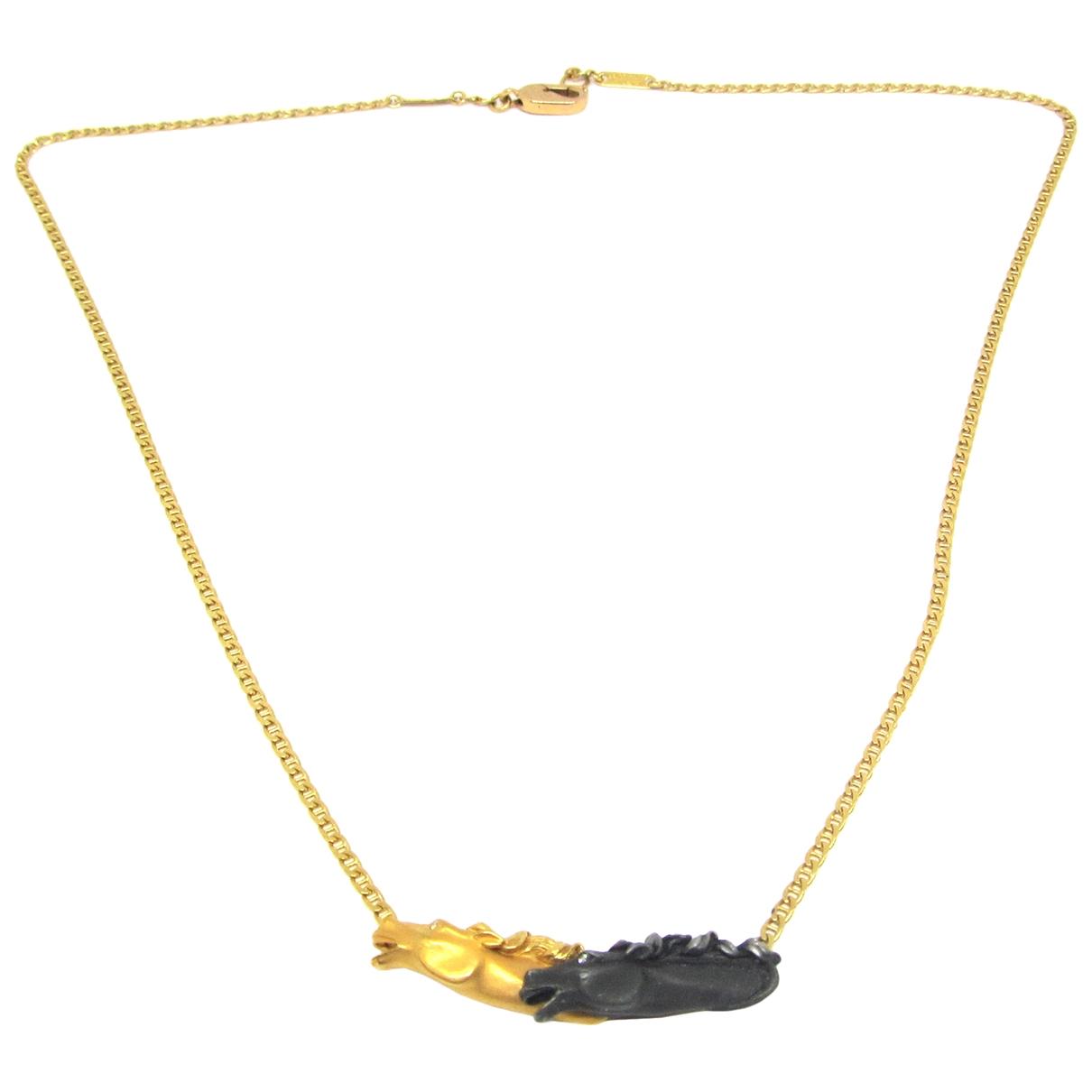 Carrera Y Carrera - Collier   pour femme en or jaune