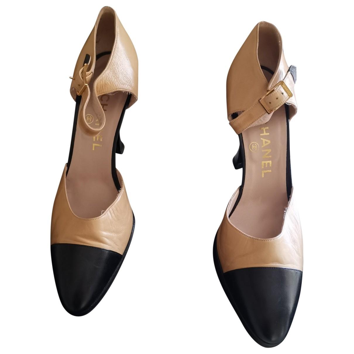 Chanel \N Multicolour Leather Heels for Women 38 EU