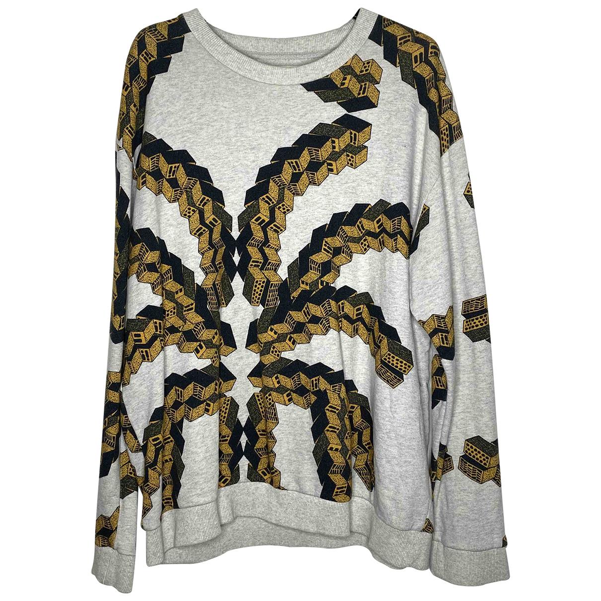 Henrik Vibskov \N Pullover.Westen.Sweatshirts  in  Beige Baumwolle