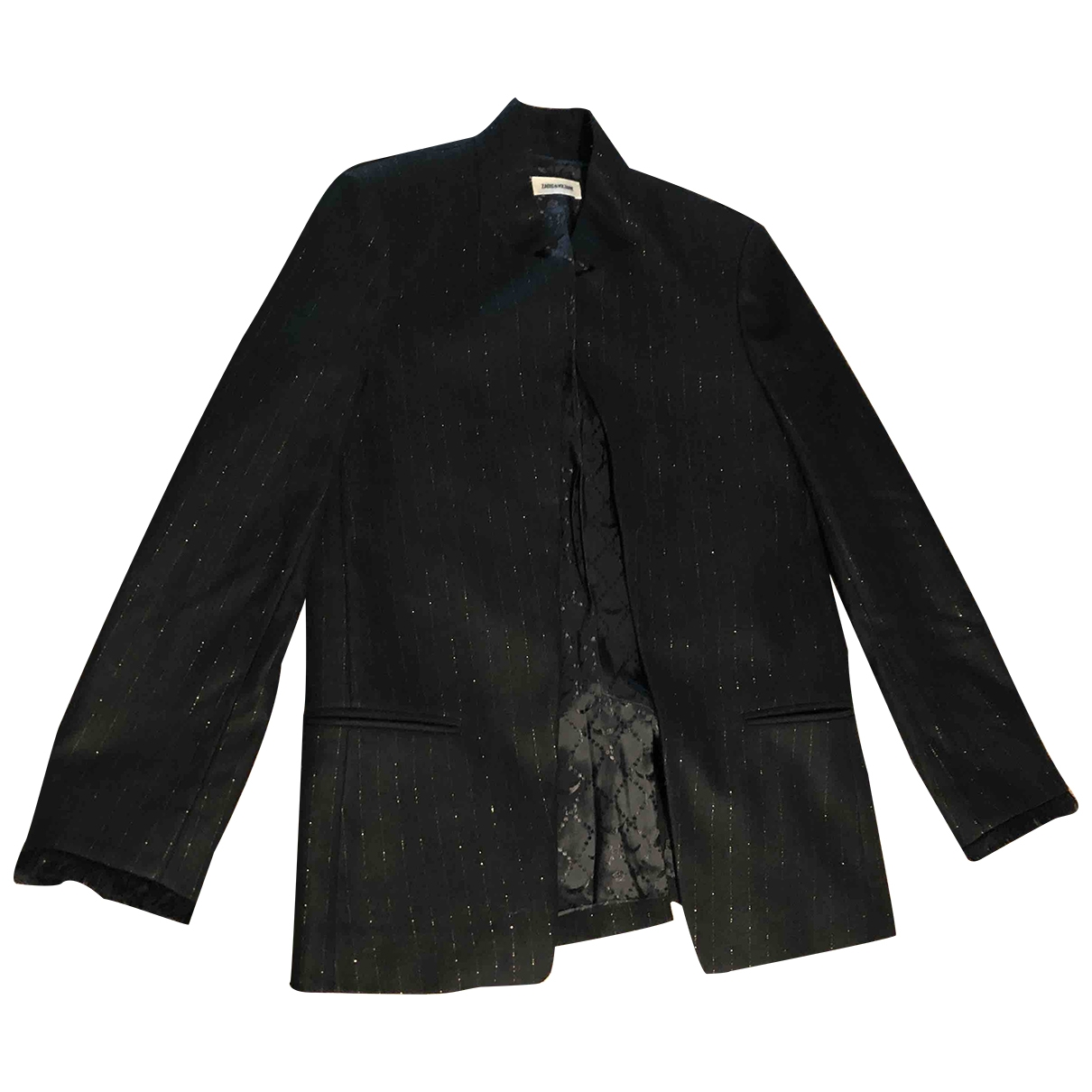 Zadig & Voltaire \N Black Wool jacket for Women 36 FR
