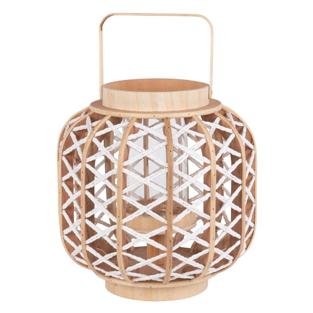 Laterne aus Bambus, H31