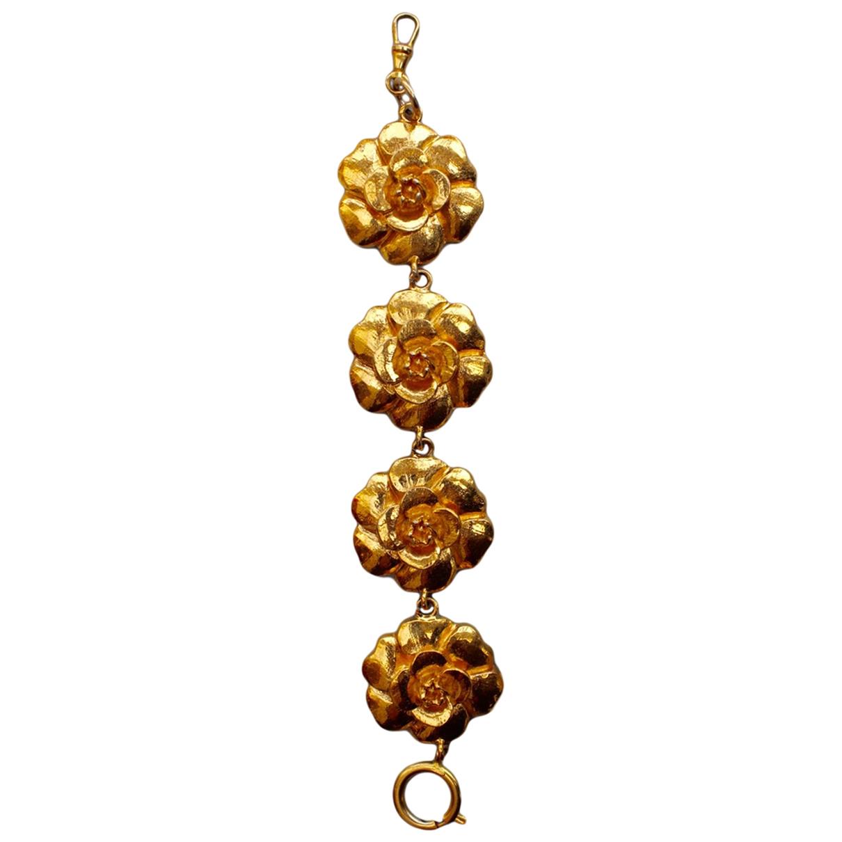 Chanel Camélia Gold Metal bracelet for Women \N