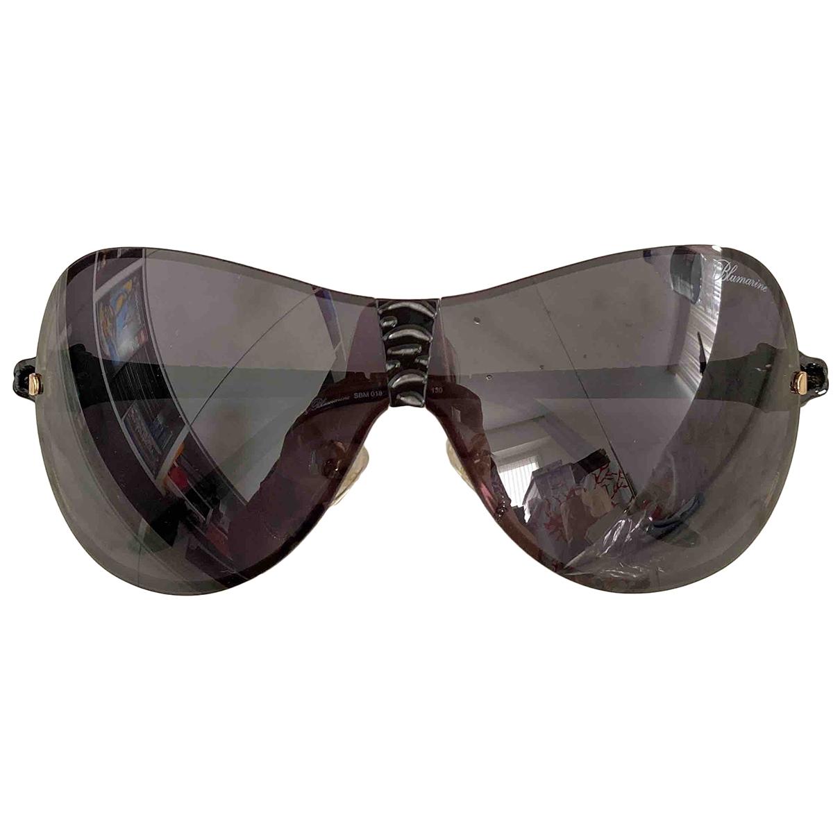 Blumarine \N Sonnenbrillen in  Schwarz Metall
