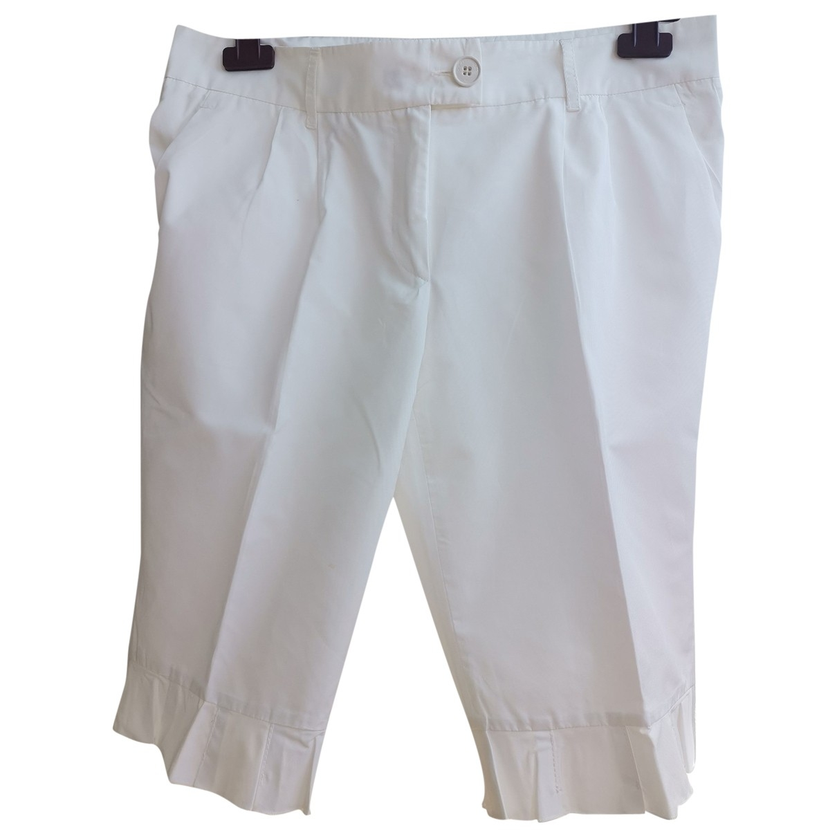 Moschino Cheap And Chic \N White Shorts for Women 42 FR