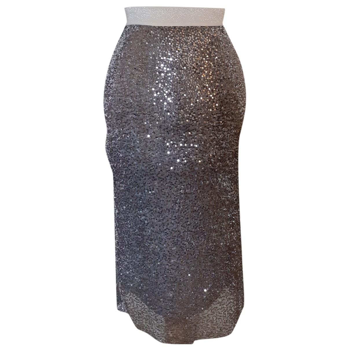 Zara - Jupe   pour femme - argente