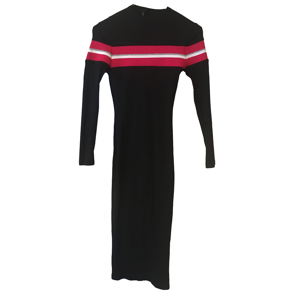 Topshop - Robe   pour femme en coton - elasthane - marine