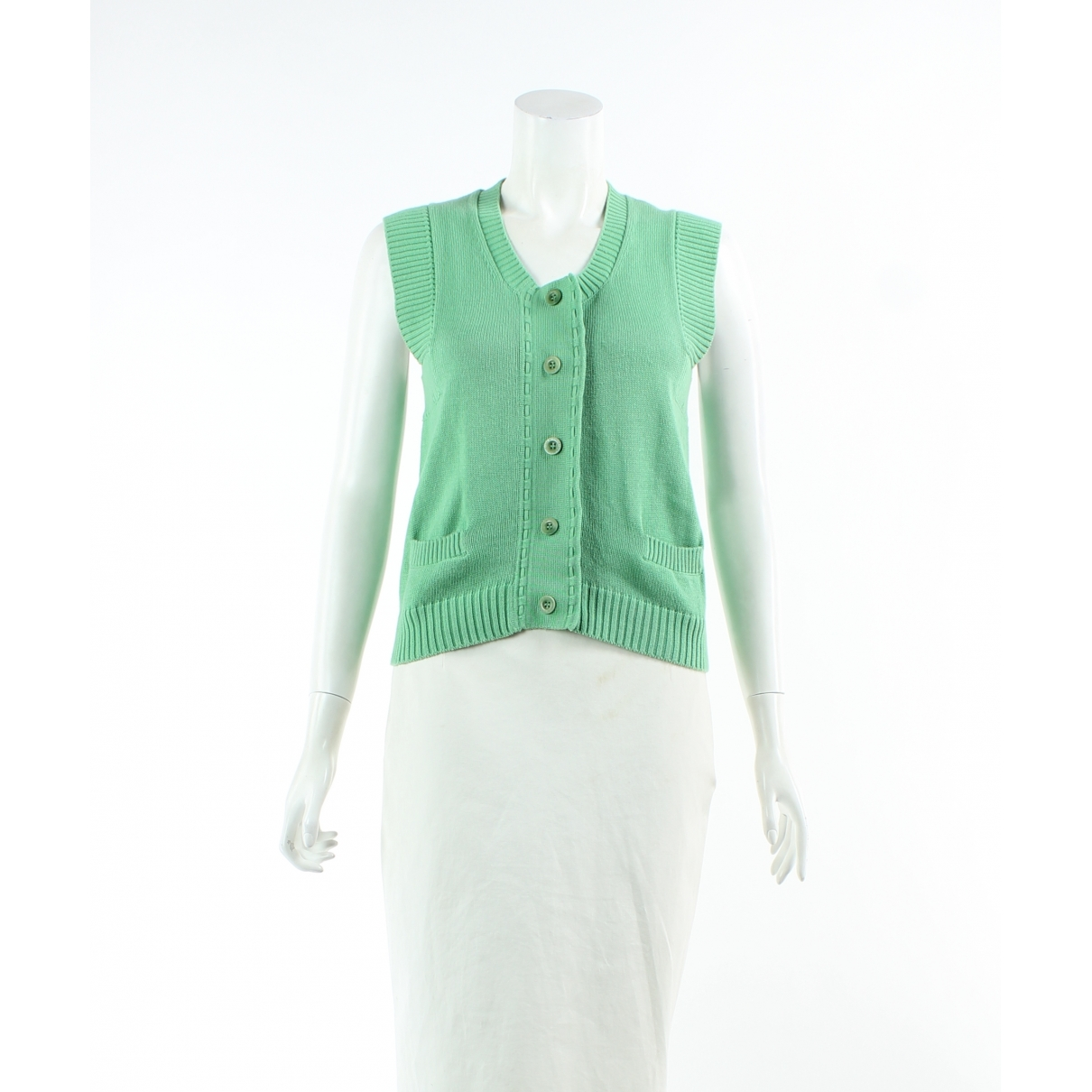 See By Chloé \N Green Cotton  top for Women 44 FR