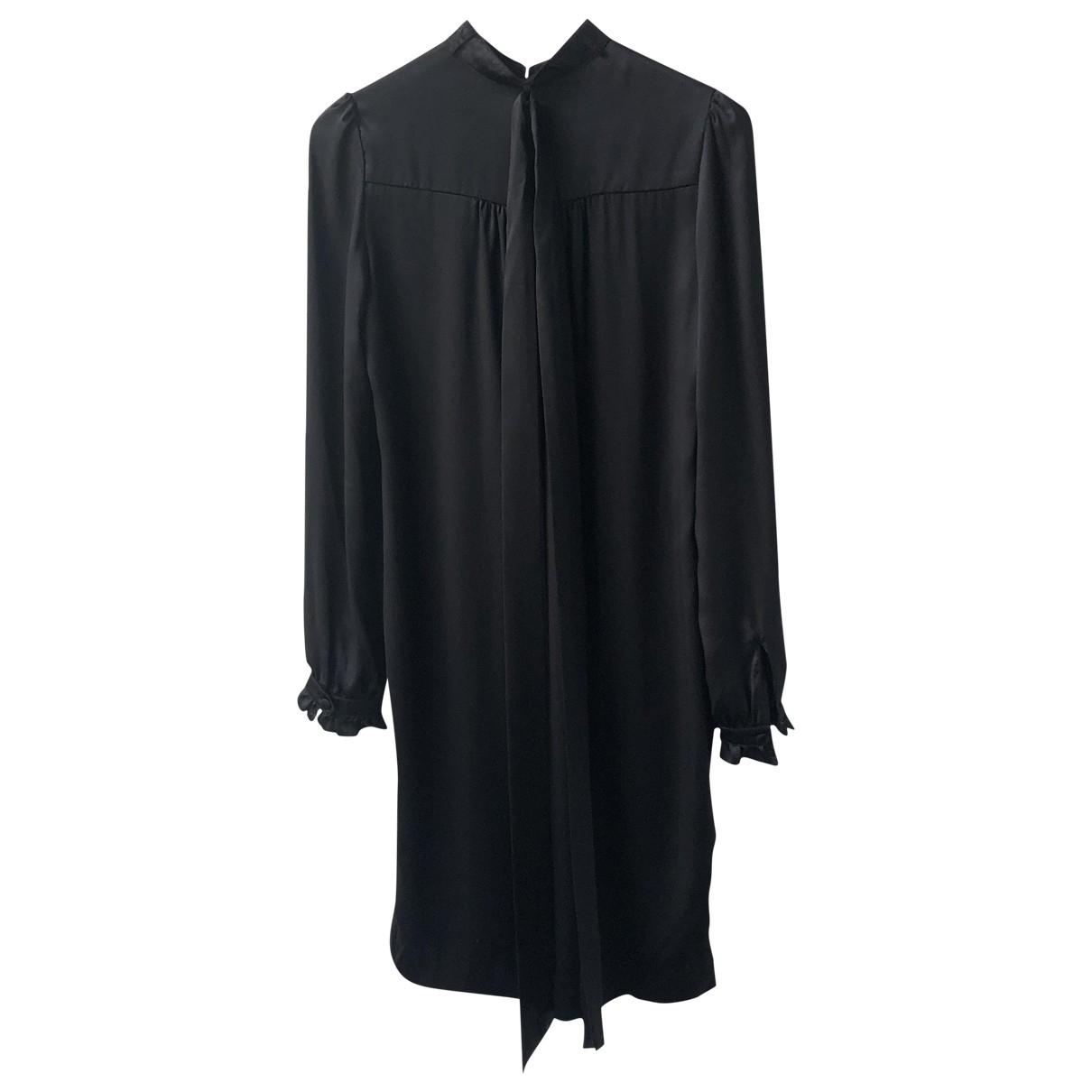 Veronique Branquinho - Robe   pour femme en soie - noir
