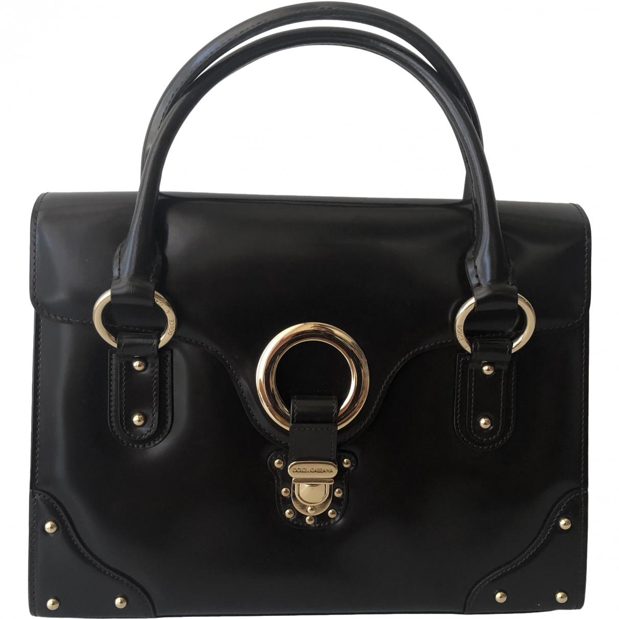 Dolce & Gabbana - Sac a main   pour femme en cuir - marron