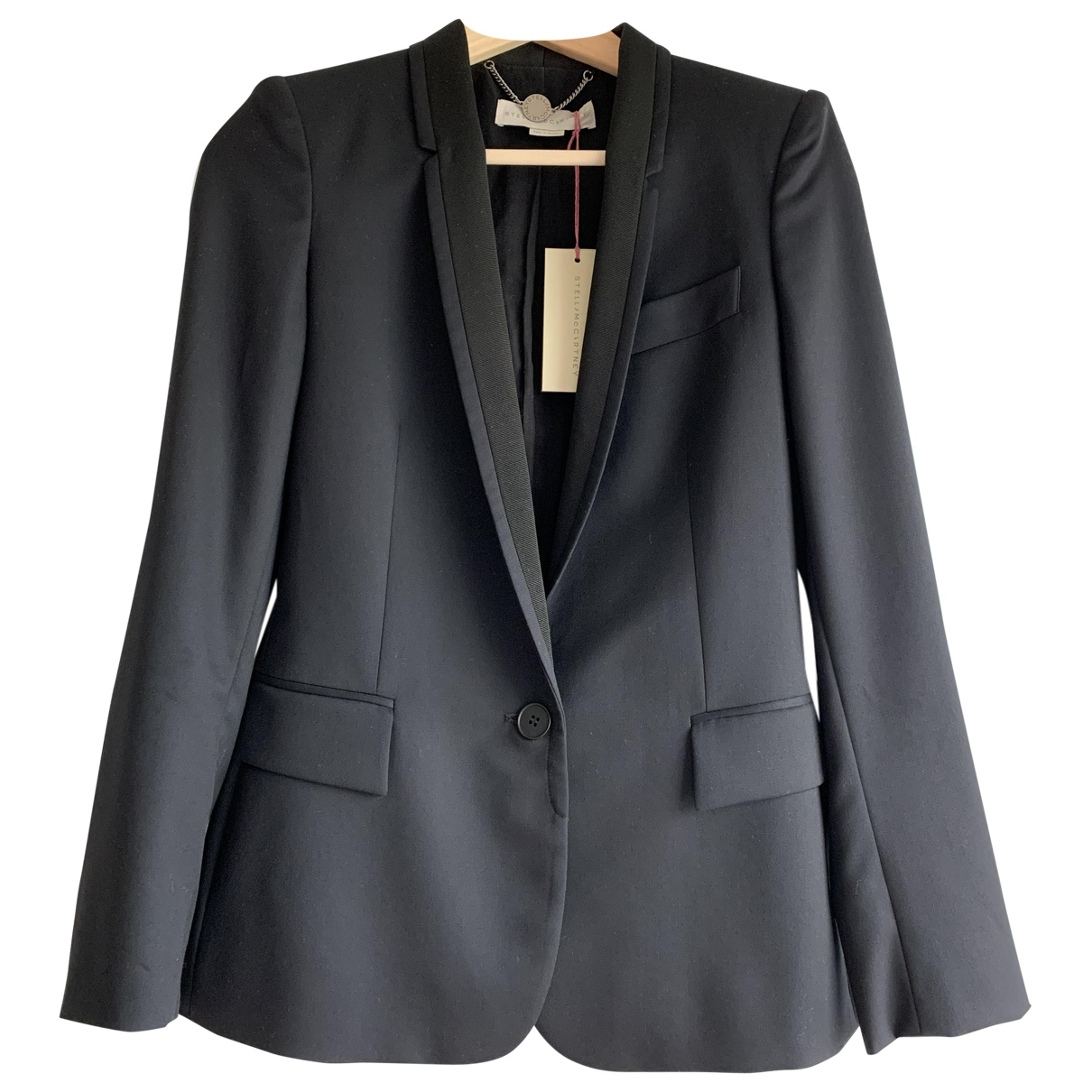 Stella Mccartney \N Black Wool jacket for Women 36 IT
