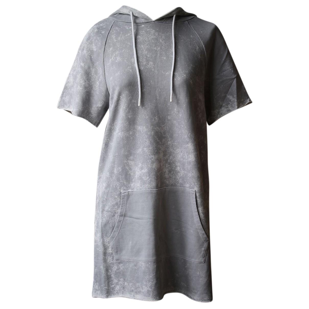 Cotton Citizen - Robe   pour femme en coton - gris