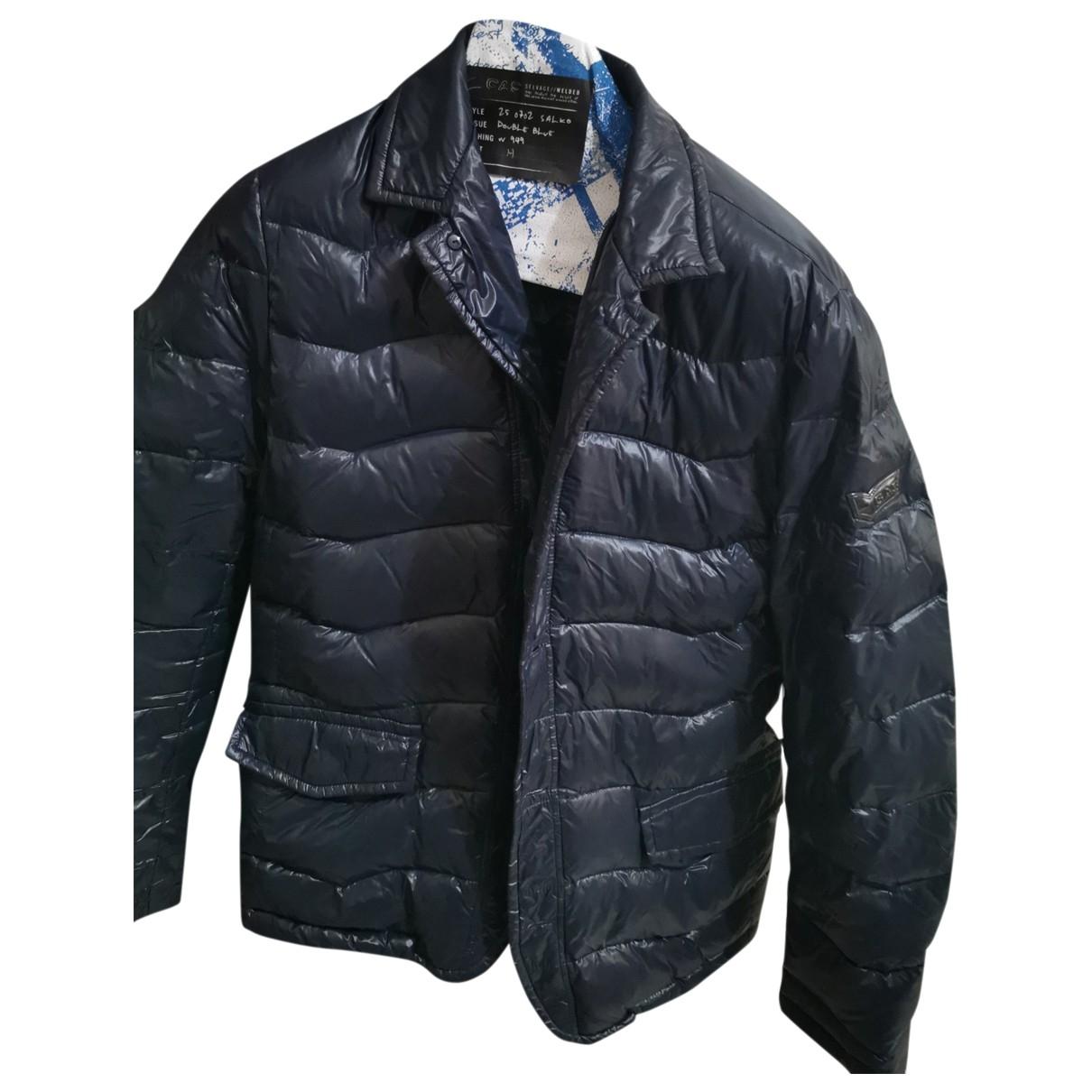 Gas \N Jacke in  Blau Polyester