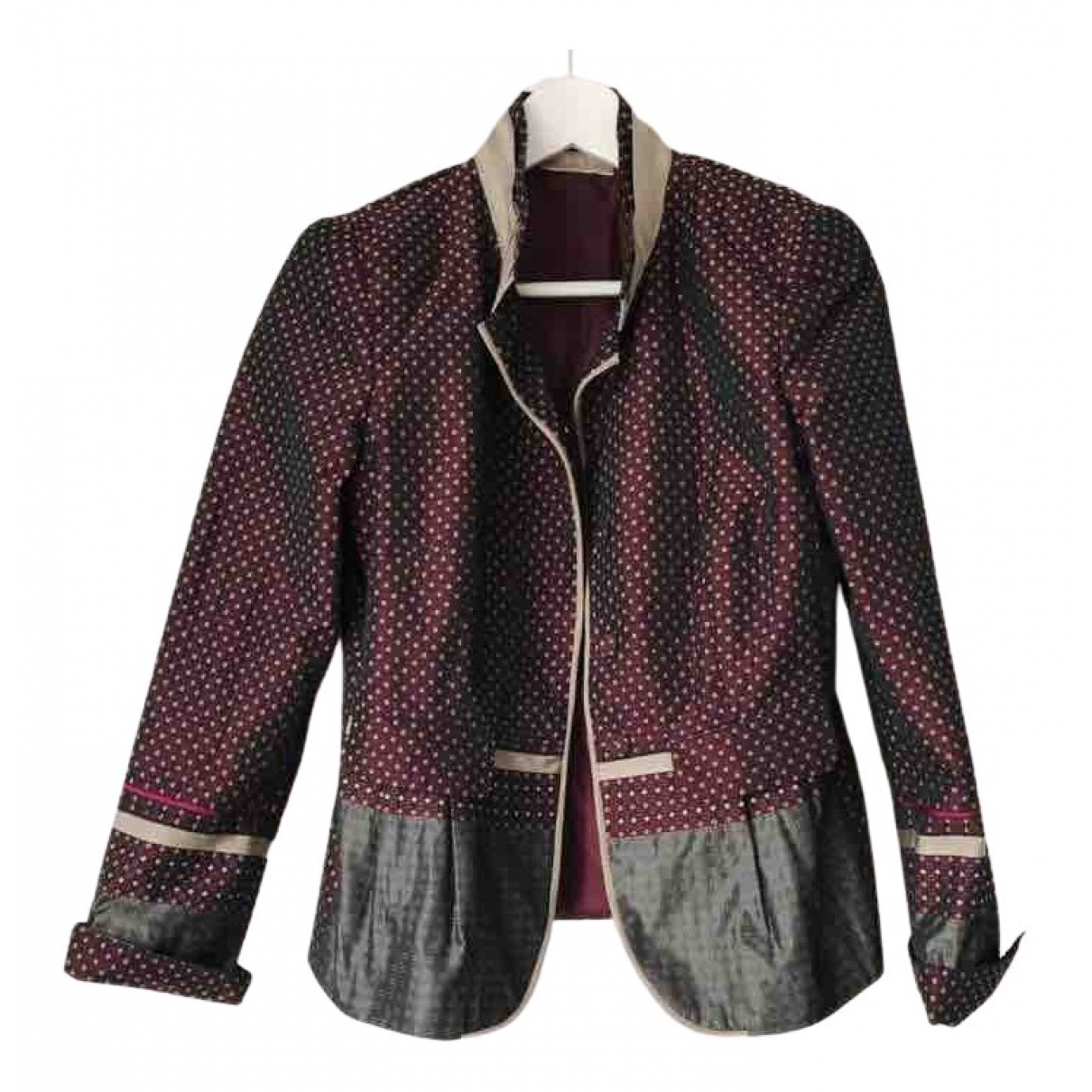Non Signe / Unsigned Hippie Chic Jacke in  Bunt Polyester