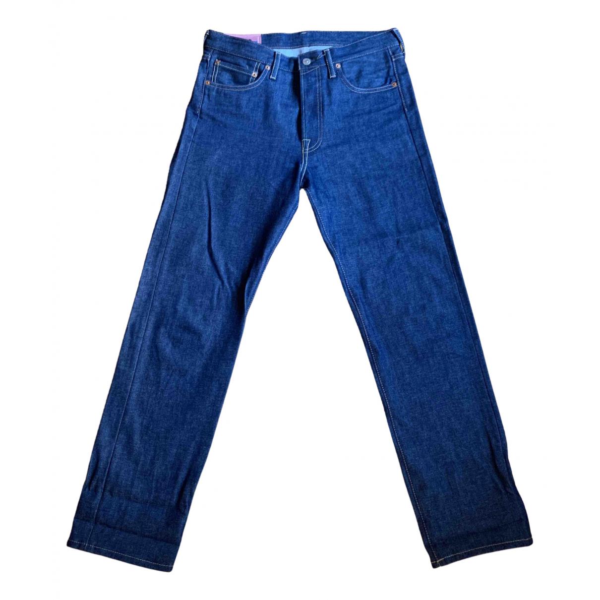 Acne Studios \N Blue Cotton Jeans for Men 30 US