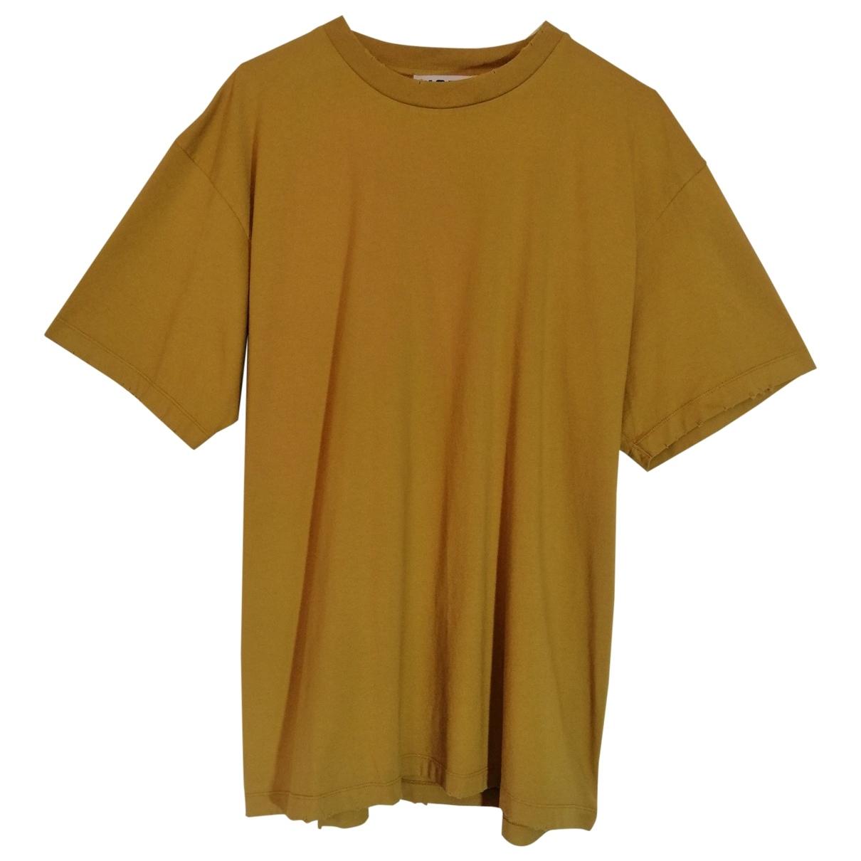 Hope - Tee shirts   pour homme en coton - jaune