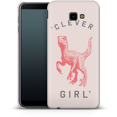 Samsung Galaxy J4 Plus Smartphone Huelle - Clever Girl von Florent Bodart