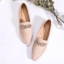 Zapatillas con diseño joyado
