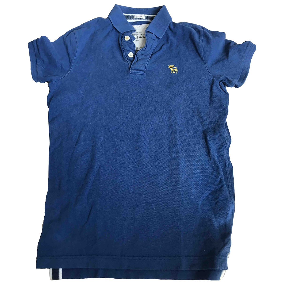 Abercrombie & Fitch \N Blue Cotton Polo shirts for Men S International