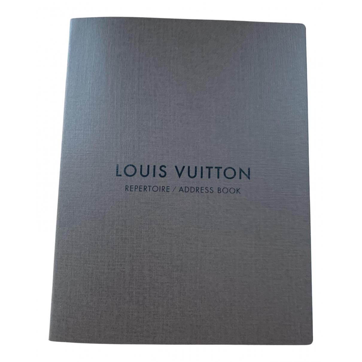 Louis Vuitton - Objets & Deco   pour lifestyle en coton - marron