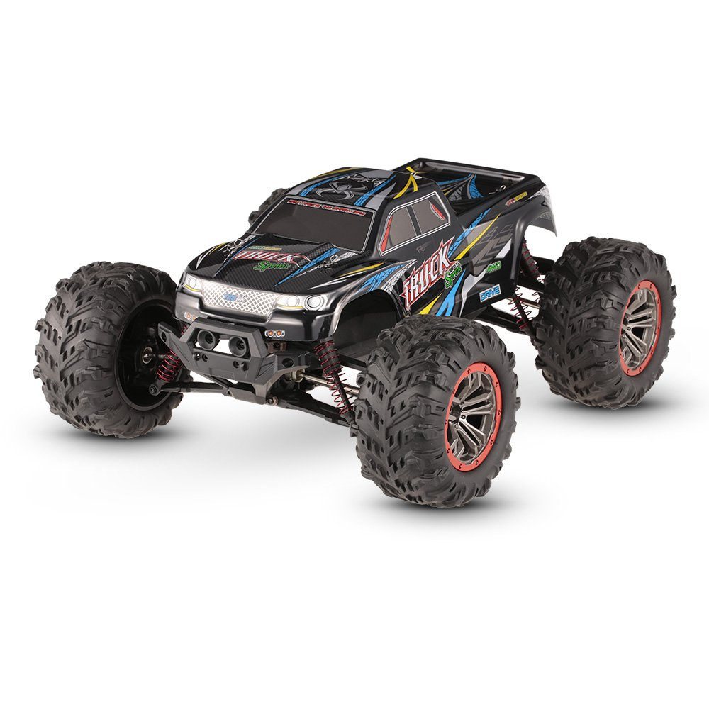 XLH 9125 1:10 2.4G 4WD Brushed High Speed Off-road RC Car RTR - Blue