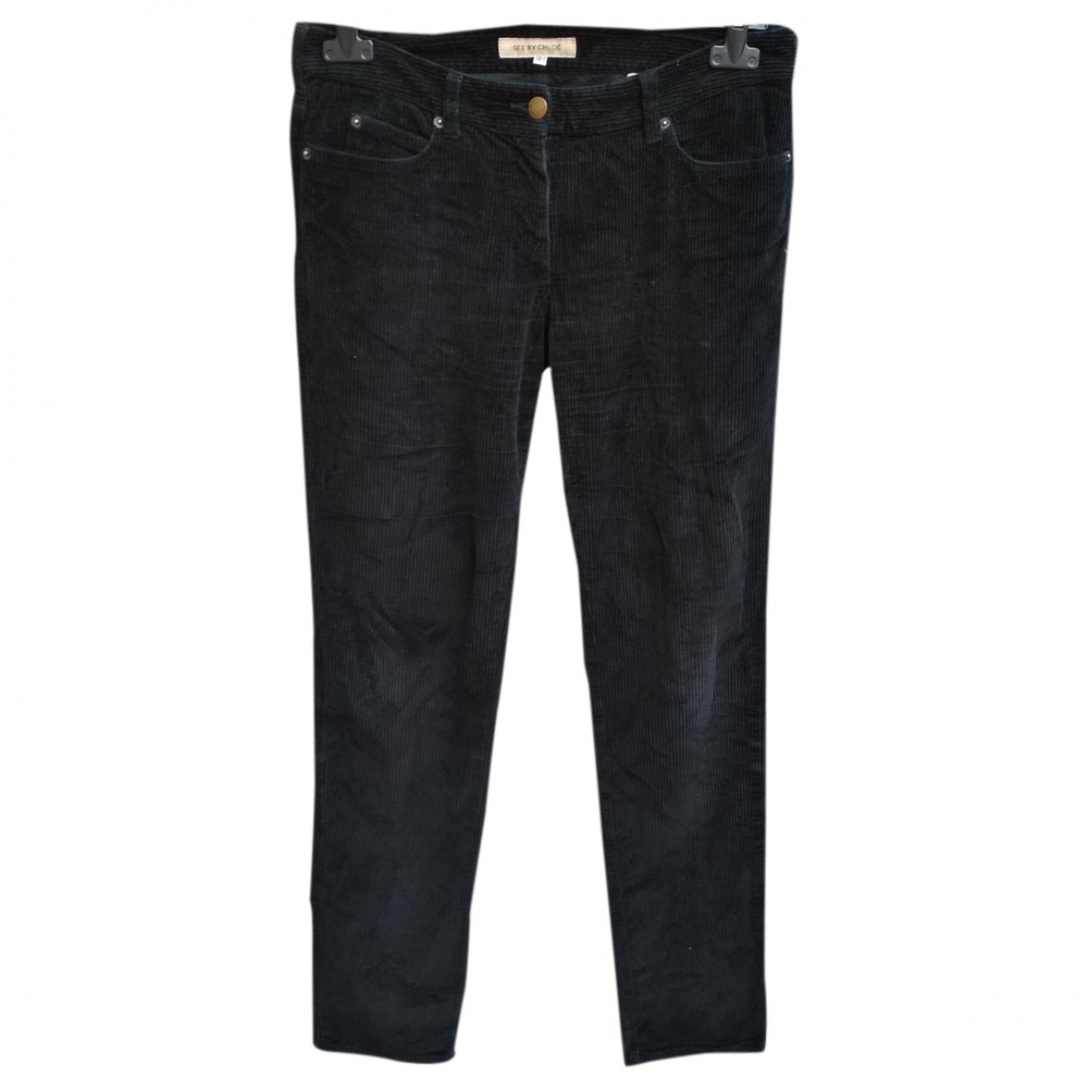 See By Chloé \N Black Cotton Jeans for Women M International