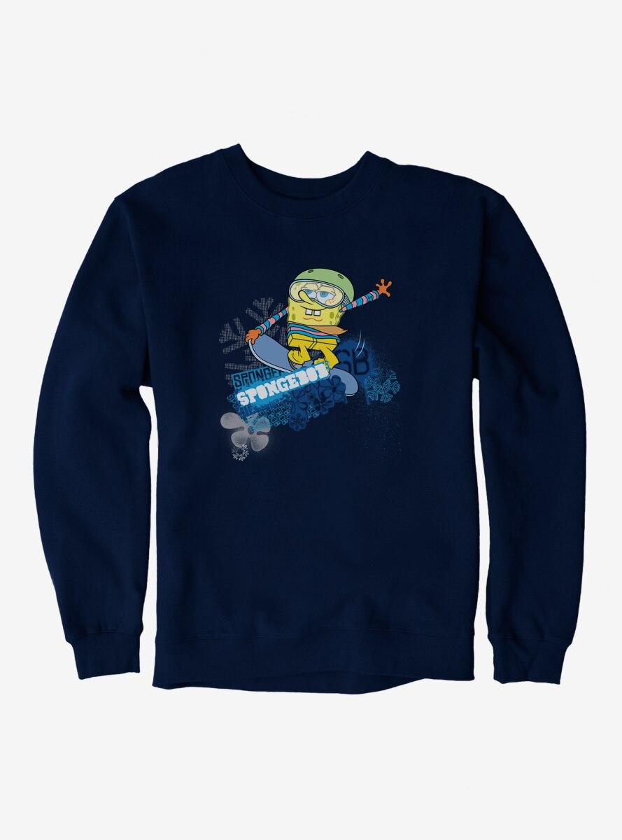 SpongeBob SquarePants Sports Snowboard Tricks Sweatshirt
