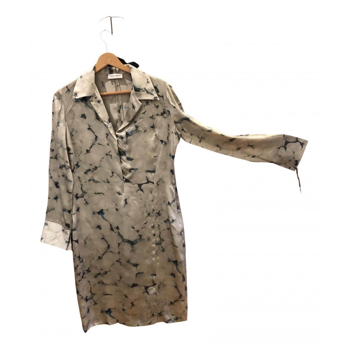 Roberto Torretta - Robe   pour femme en soie - gris
