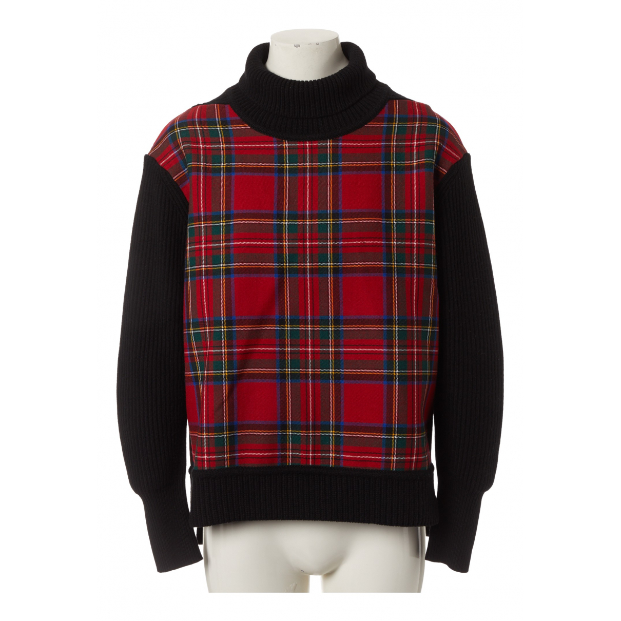 Burberry \N Pullover in  Rot Wolle