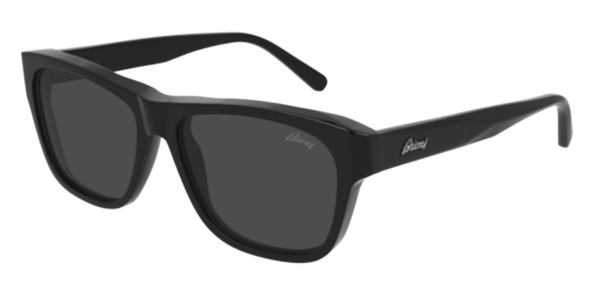 Brioni BR0081S 001 Mens Sunglasses Black Size 57