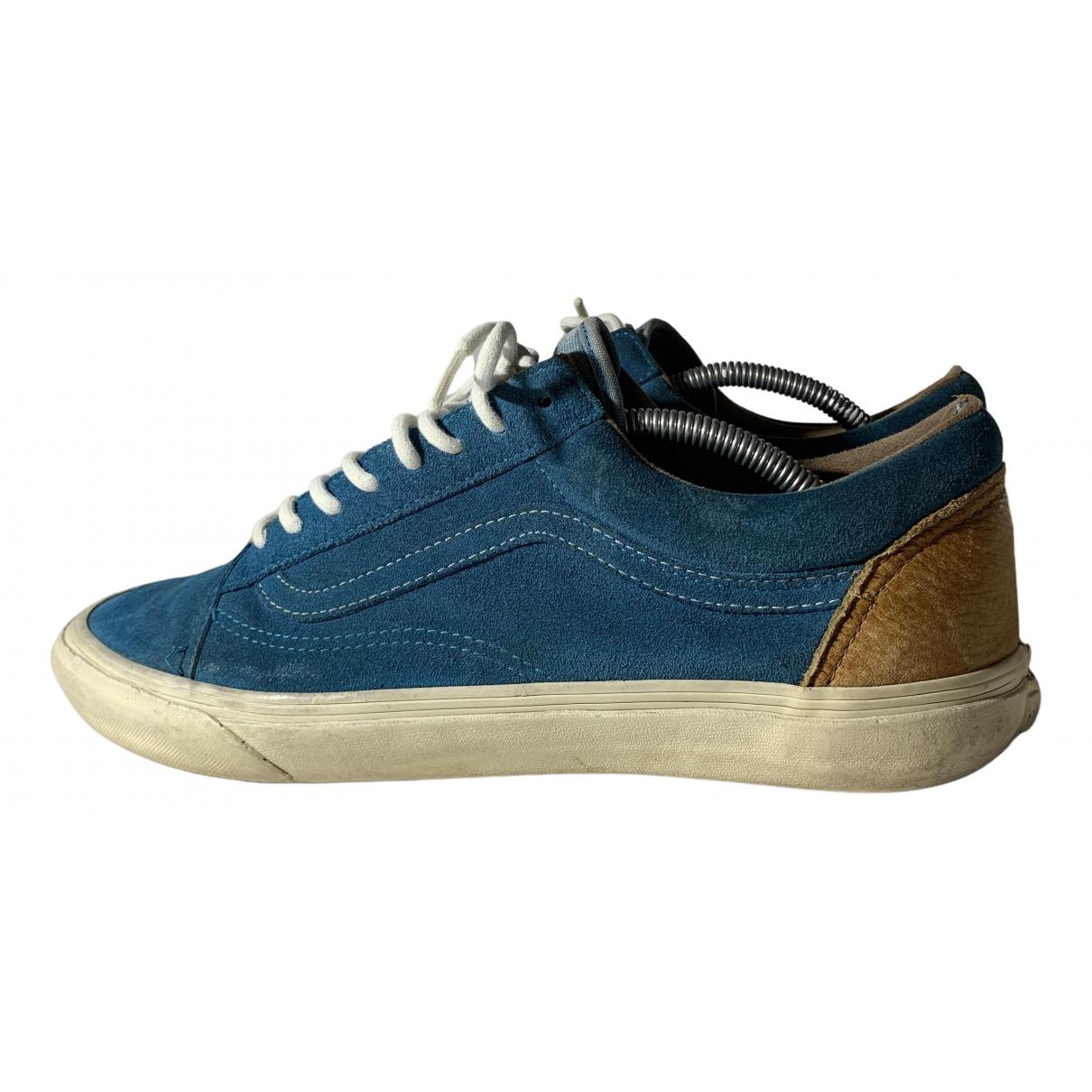 Vans - Baskets   pour homme en suede - bleu