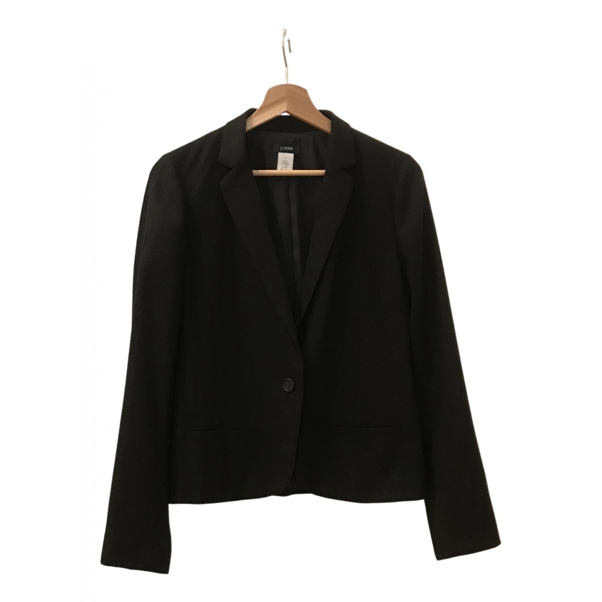 J.crew - Veste   pour femme en laine - noir