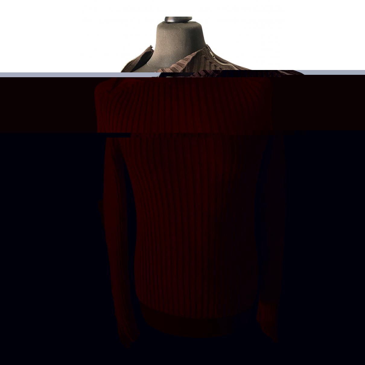 Gucci \N Pullover.Westen.Sweatshirts  in  Braun Baumwolle
