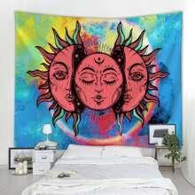 Tie Dye Sun Tapestry