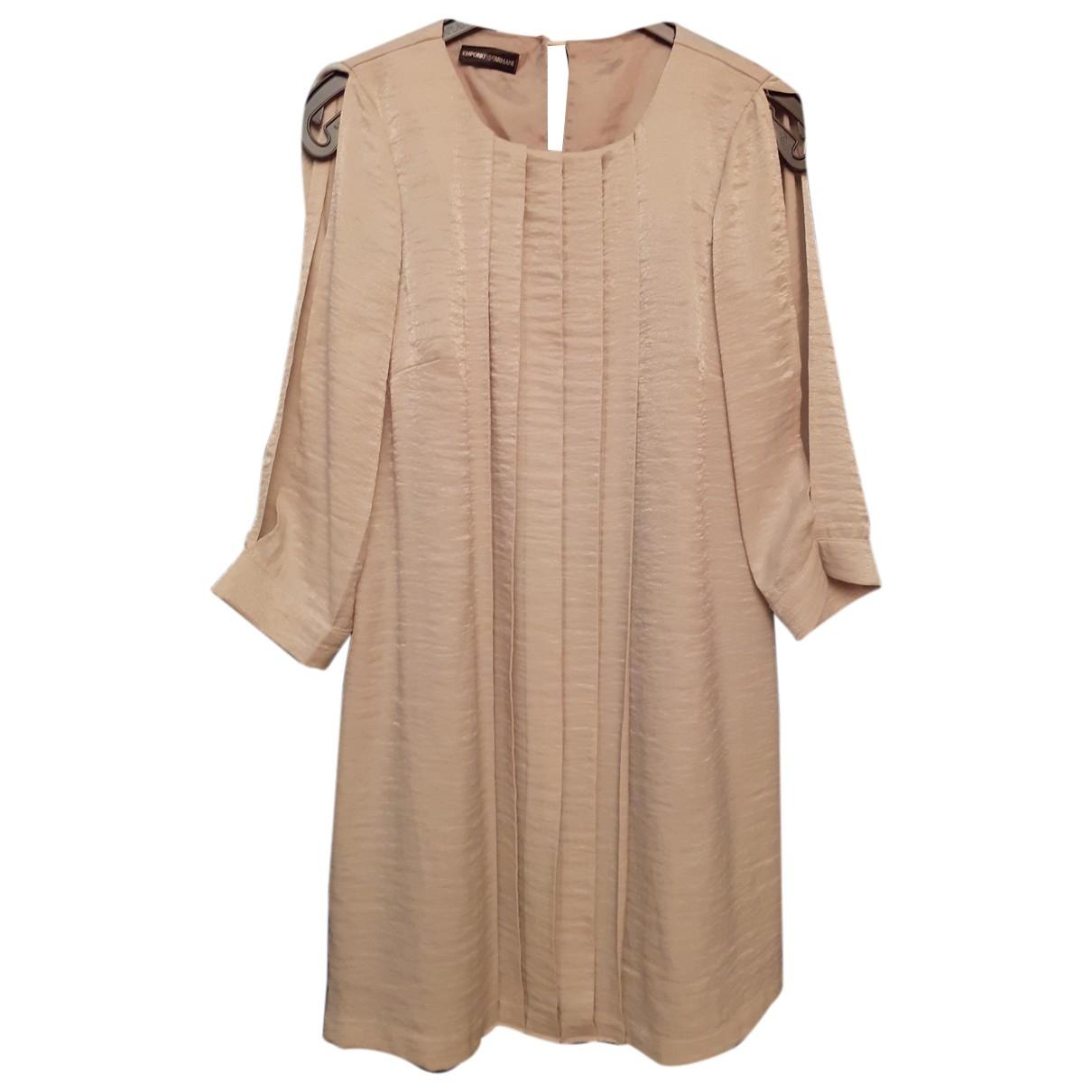 Emporio Armani - Robe   pour femme - ecru