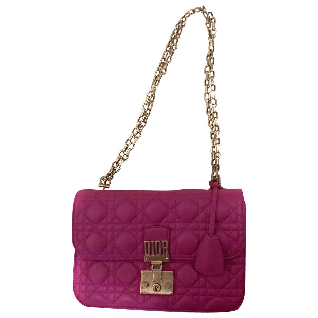 Dior - Sac a main DiorAddict pour femme en cuir - rose